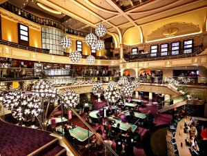 Atmosfaeren pa Hippodrome Casino London